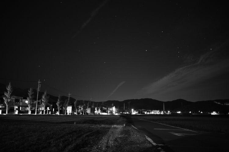 Canon EOS Eos5d Zuiko Oldlens オールドレンズ Zuiko28mm オリオン座 Nightshot Whiteandblack モノクロ 白黒 Nightphotography