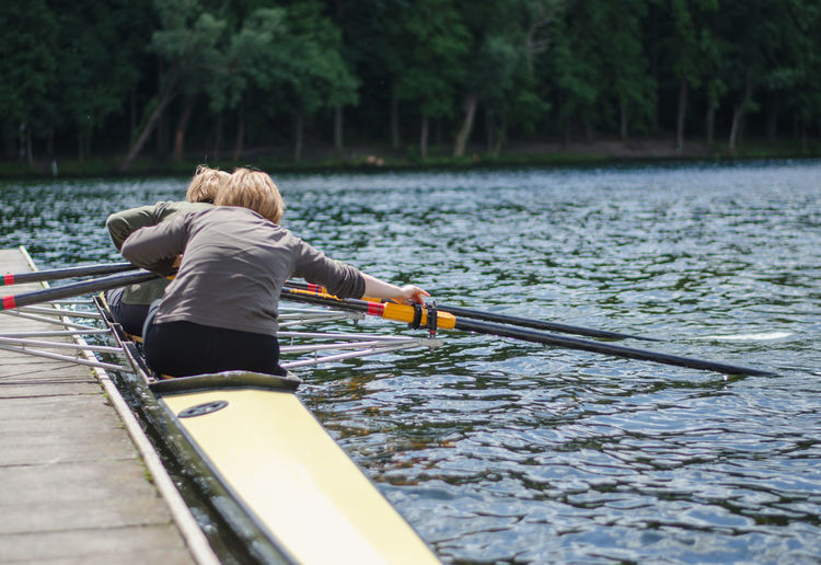 Canoe Canoeing