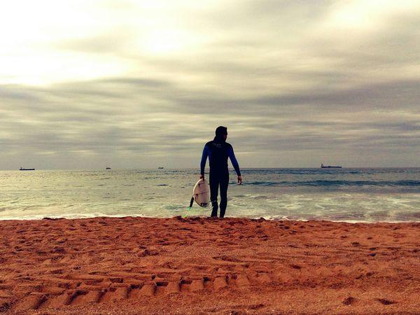 Praying for a wave Make Magic Happen Surf Surfing Beach Sea Bizkaia Sand