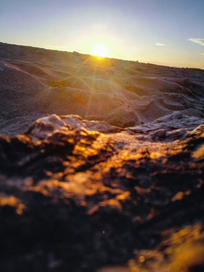 Algeria photography Beachphotography Sunset Send Withfilter Phonecamera