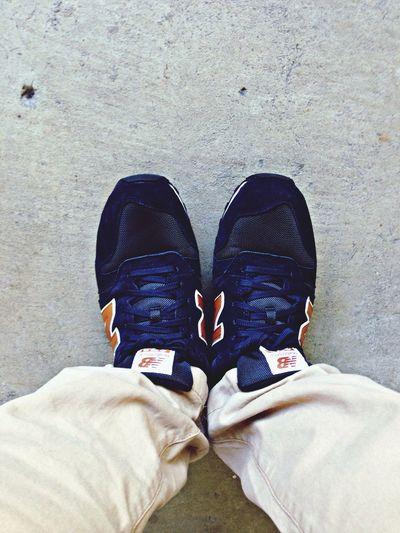 New shoes ... Extra balance , new balance .. Hehe