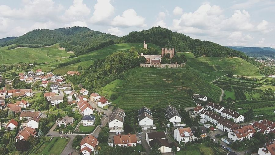 Gengenbach aerial view Gengenbach Germany Aerial View Architecture Vineyard Destination Castle Wine Moments Miles Away Flying High