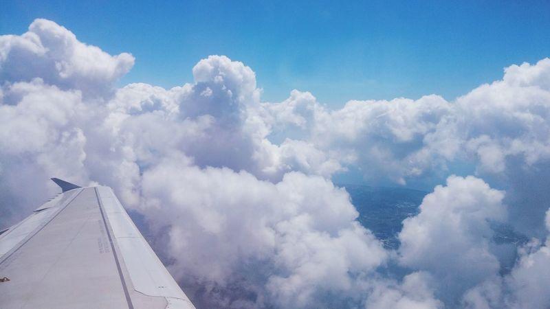 Sky Gökyüzümavi From An Airplane Window Taking Photos Enjoying Life Check This Out Gokyuzu