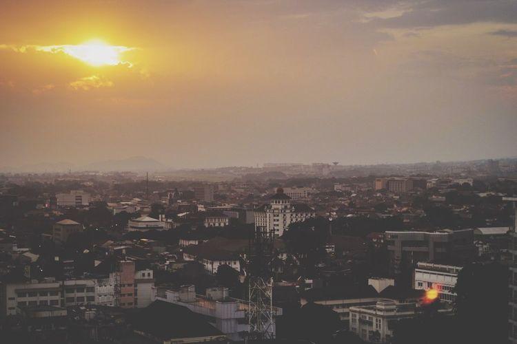 Senja at Bandung