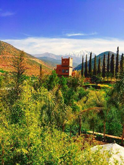 Atlas Mountains morocco. Traveling