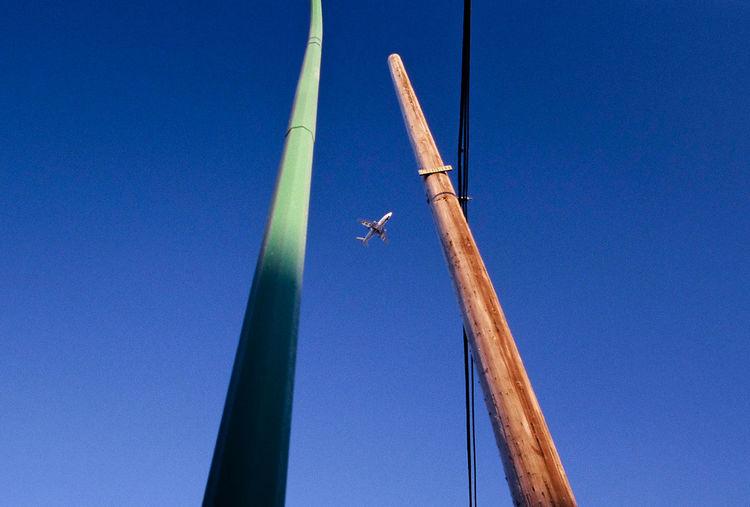 35mm Airplane Blue Clear Sky Day Film Minimal Minimalism Minimalist Northern Canada Sky Slidefilm Yellowknife