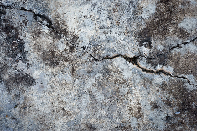 Abstract Abstract Backgrounds Architecture Backgrounds Built Structure Cement Close-up Concrete Cracked Damaged Full Frame Gray Marble No People Old Outdoors Pattern Rough Solid Surface Level Textured  Textured Effect Wall - Building Feature Weathered
