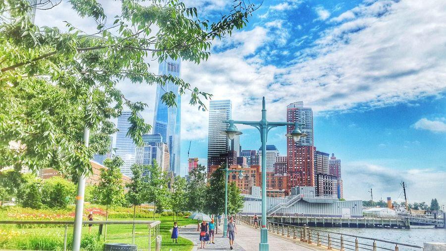 I Heart New York Enjoying Life Hudson Park Good Day