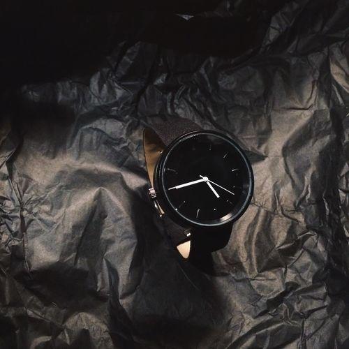 Minimalist Black Clock Close-up Men Men Watching Mensfashion Menswear Minimalism No People Time Watch Face Watching