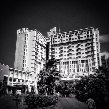 Favourite meeting place in town Bw_collection Blackandwhite Architecture Makassar