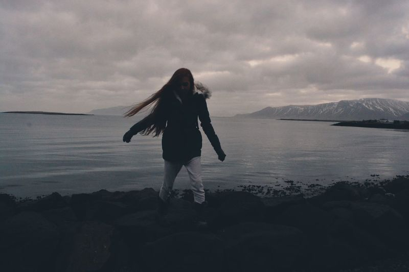 Water Young Woman Woman People One Person Travel Iceland_collection Iceland
