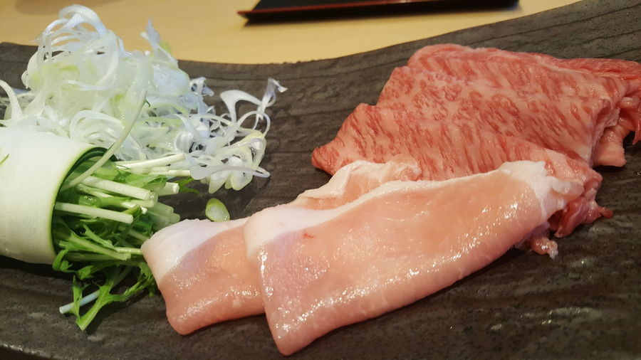 Japanese Food しゃぶしゃぶ EyeEm Selects Sashimi  Seafood Cultures Raw Food Close-up Food And Drink