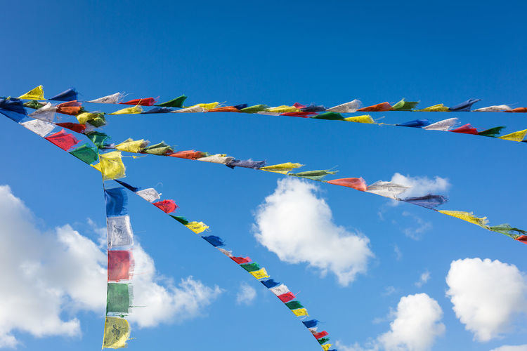 Amsterdam Blue Blue Skies Blue Sky Bunting Canon Canon5Dmk3 Canonphotography Clouds Clouds And Sky Colorful Colors Colour Of Life Colours Dramatic Angles Europe Flags In The Wind  Holland In A Row Large Group Of Objects Multi Colored Sky TakeoverContrast Traveling Wind