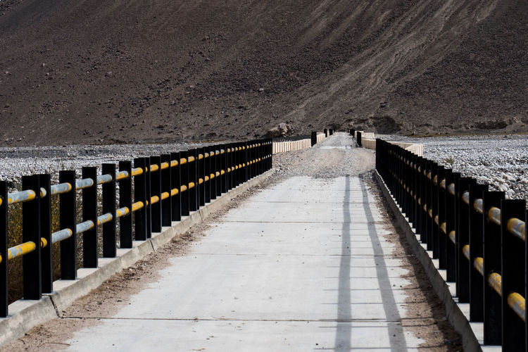 Architecture No People Day Nature The Way Forward Outdoors Direction Transportation Built Structure In A Row Diminishing Perspective Road High Angle View Sunlight Footpath Railing Mountain Barrier Metal Security Bridge Afganistan