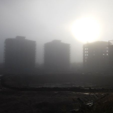 Fog Civil Engineering Difficult conditions site horror story