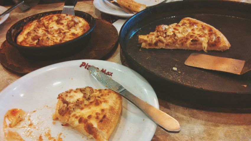Pizza Time Having Dinner At Pizzamax Eyeemphotography Karachi EyeEm Karachi Pakistan Mobile Photography