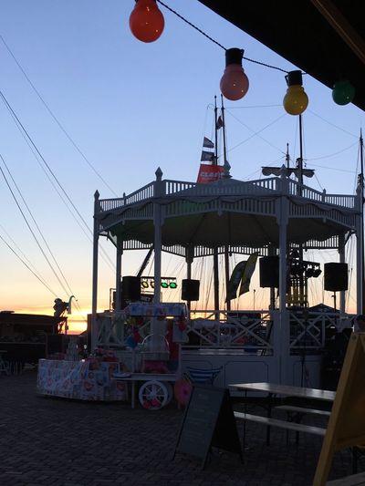 Foodfestival Harbour Harlingen Fryslan Friesland Heerlijkharlingen Pagoda Colours Lamps Holland