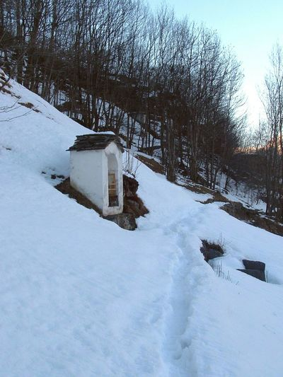 Neve paesaggio Landscape Val Chiavenna Snow