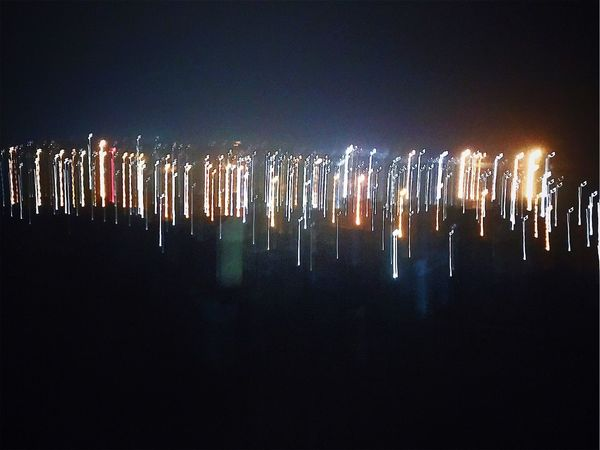 Night Illuminated No People Multi Colored Outdoors Clear Sky Panoramic Cityscape Sky City