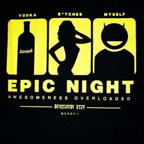 Epic Night Jhakasss :P Bhayanak Raat :D