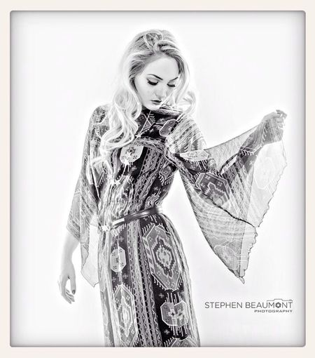 The lovely Jessi Kate with wardrobe by Tomorrow Never Knows Studio Model Vintage