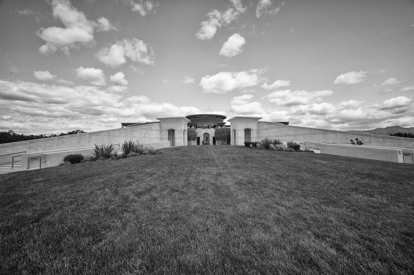 Opus One San Francisco Napa Valley Blackandwhite Winery