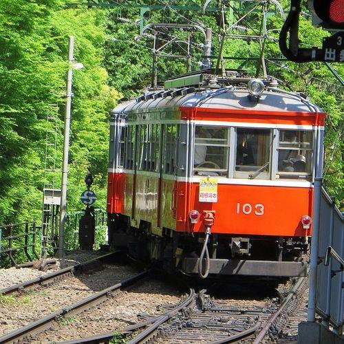 箱根登山電車 鉄分補給