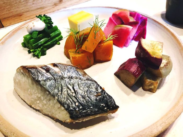 Traditional Japanese breakfast Tradition Food And Drink Food Plate Freshness No People Healthy Eating Indoors  Close-up Day Ready-to-eat Seafood Meat
