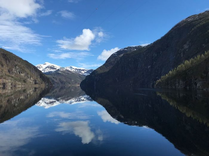 Fjord Water Sky