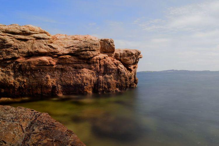 Landscape_Collection France🇫🇷 Water Sea Rock - Object Cliff Rock Formation Landscape Rocky Coastline