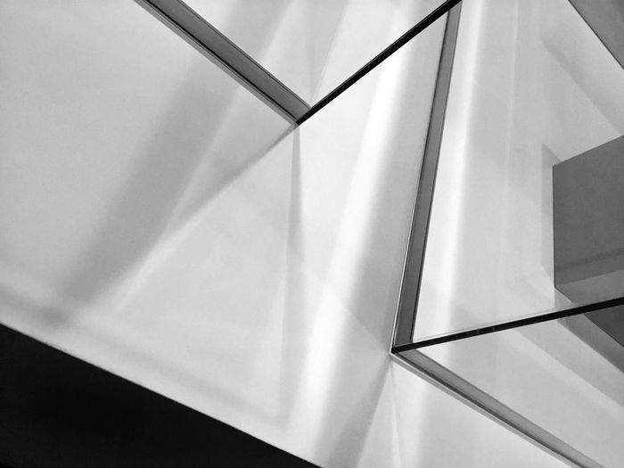 Abstract Angles Architecture Black And White Building Design Lines Pattern