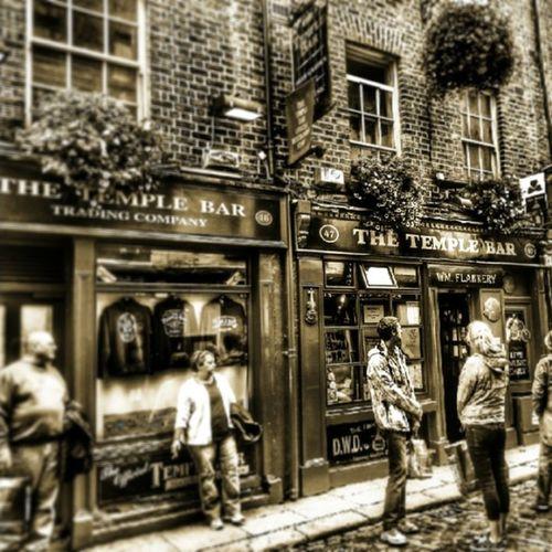 Bumaceraninsonu Dublin den Sonfoto Templebar
