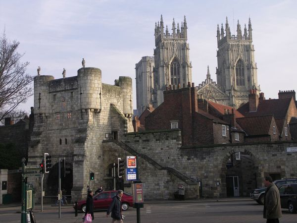 York Minster and Bootham Bar Architecture Catherdal Church Historic Outdoors Travel York York Minster