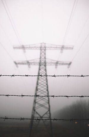 I always enjoy these foggy days it always adds so much to the pictures!   Barbed Wire Shadow No People Foggy Morning Mist Foggy Misty Morning EyeEmNewHere Amsterdam City Winter Blackandwhite Silhouette Darkness And Beauty Electricity Tower Electric Lines Barbed Wire Against The Sky Barbed Wire Wednesday Barbed Wire Close Up Bokeh Gloomy Day Gloomy Dusk Dawn Of A New Day Dangerous Outdoors