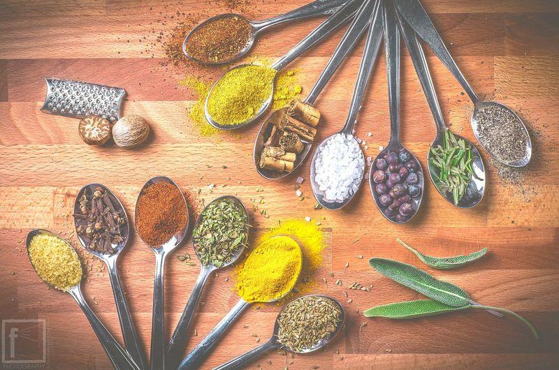 Spices. Fegraz federicograziani