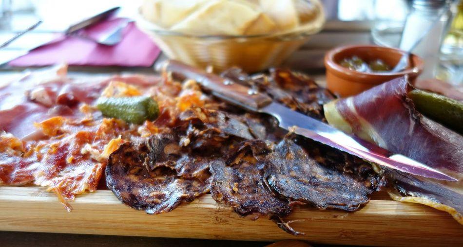 Tapas Food Charcuterie Ham Serrano Planche