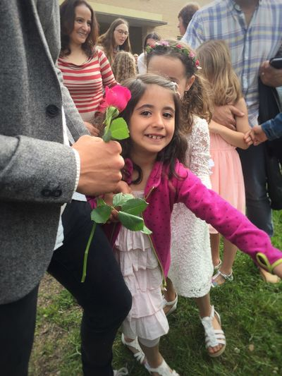 Rose🌹 to Teacher❤️ in Graduation Ceremony Girls Real People Smiling Childhood Lifestyles Togetherness Leisure Activity Daughter Happiness Love Day Elementary Age Outdoors Looking At Camera Portrait Cheerful Bonding Child Young Adult People Pure Joy