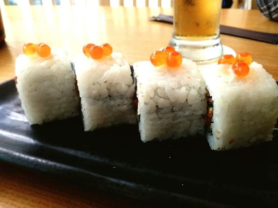 Itadakimasu Lunch Lunchtime Sushi Time Sushi Eggfish Ovenbakedsalmon Foodphotography Lenovoesia Foodies Foodporn