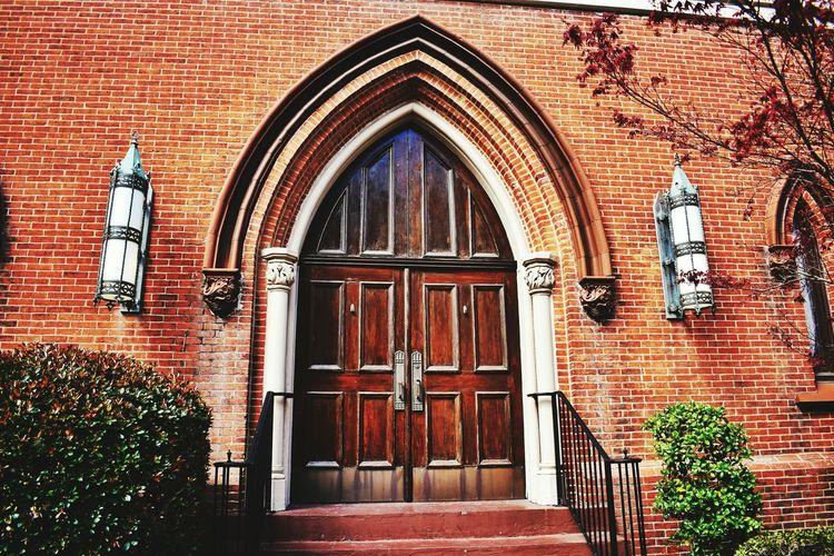 Built Structure Religion Architecture Door Entrance Brick Wall Church Temple Entrance Building Exterior The Street Photographer - 2017 EyeEm Awards
