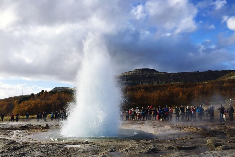 Iceland Goldencircle Goldencircle Iceland Geysir Nature IPhoneography Southiceland Travel Honeymoon