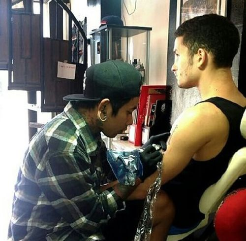 Indonesiantattoo Tattoo Style Tatoo Art Tattoo Life Tattoo Tattoo Artist Real People Body Paint Body Painting Art