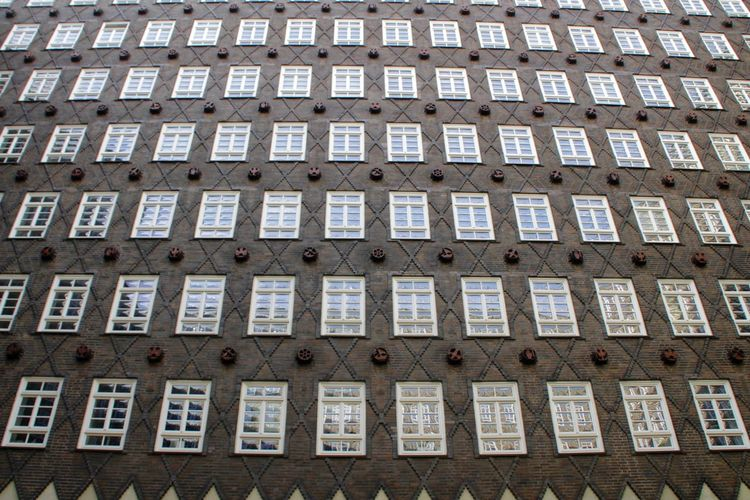 Symmetry Hamburg Germany Façade Backgrounds Full Frame Close-up Architecture Building Exterior Building Office Building Repetition Old Non-western Script Historic Residential Building Architectural Detail Residential Structure