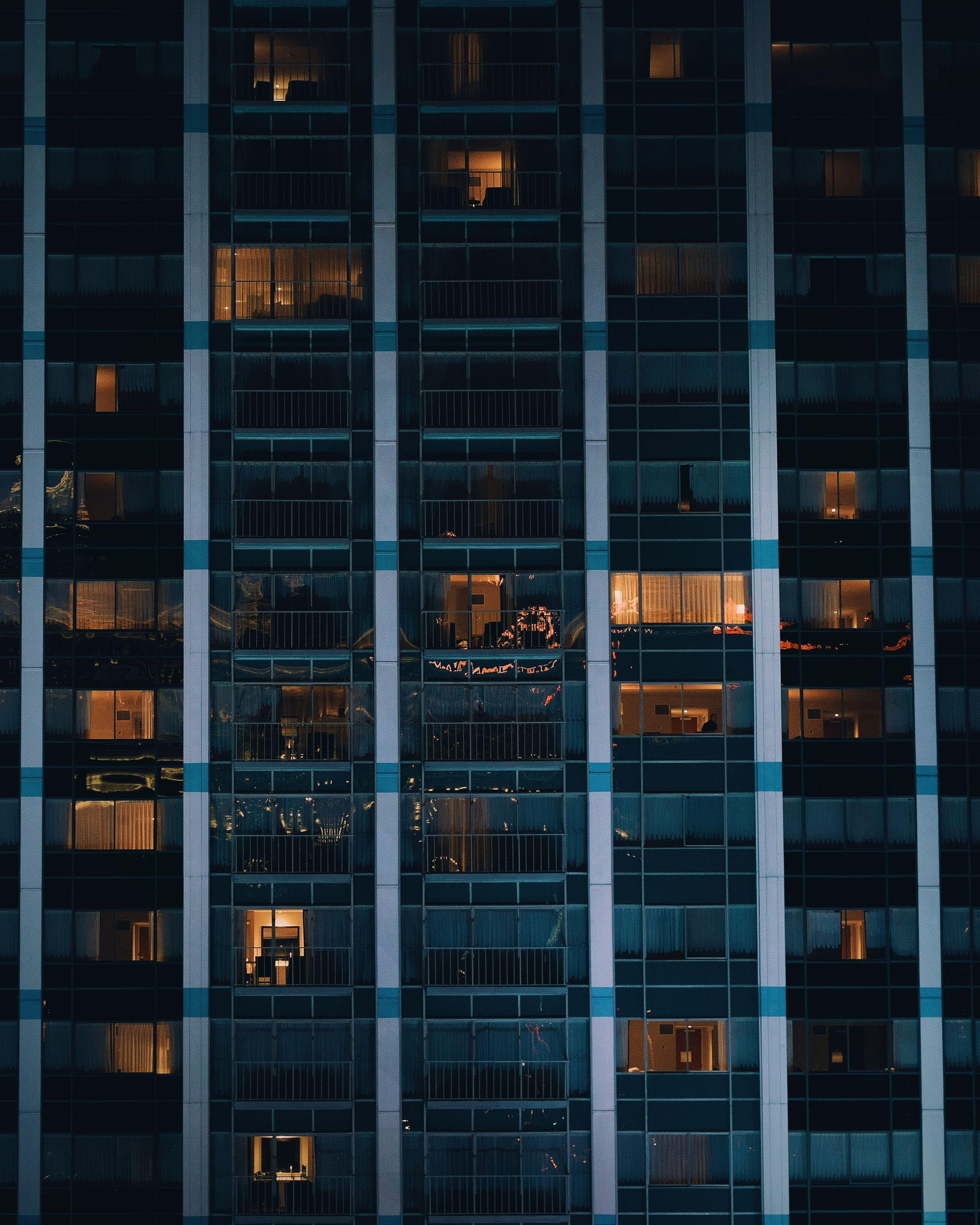 building exterior, architecture, built structure, window, city, building, modern, glass - material, reflection, office, office building exterior, night, no people, outdoors, full frame, transparent, working, illuminated, backgrounds, glass, skyscraper, window frame