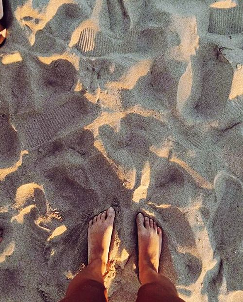 Live For The Story Beach Barefoot Sand One Person Low Section Lifestyles Outdoors Human Leg Nature Day Summer Standing Shadow People Women Human Body Part Real People Only Women One Woman Only Adults Only