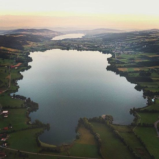 Baldeggersee View from the Hotairballoon HTCDesireEye Cantbelievemyeyes CH