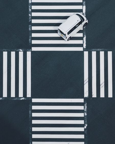 EyeEm Selects Road Marking Zebra Crossing Crosswalk Symbol Marking Road