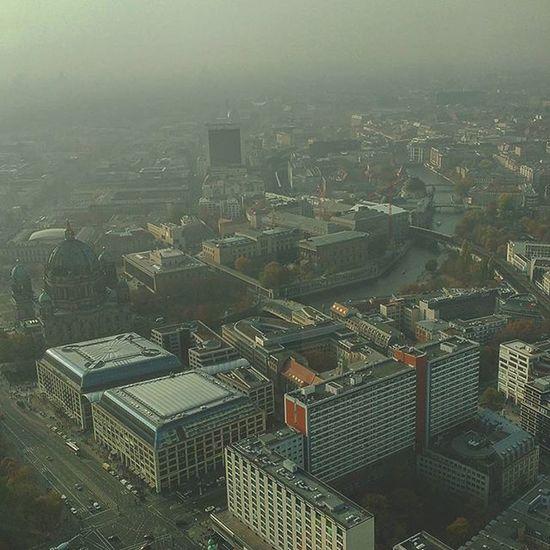 Yoyoyoyo Mitte Berlin Spree Mynameisjoe Lookin A Lil Foggy Tvtower Fernsehturm Lotsofthingstosee ...