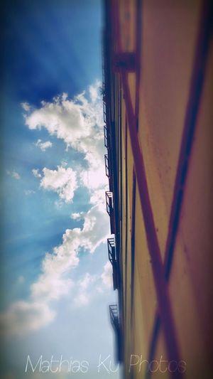 Blue Sky Eye Em Best Shots EyeEm Best Shots EyeEm Best Edits Sunshine Architecture Summertime Fassade Hausfassaden