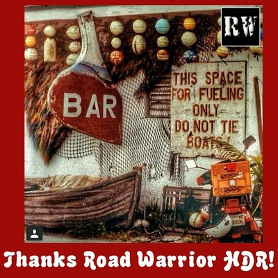 Thanks to all the crew at Road Warriors HDR. I AM OVER THE MOON EXCITED to have had my old Key West shot featured.