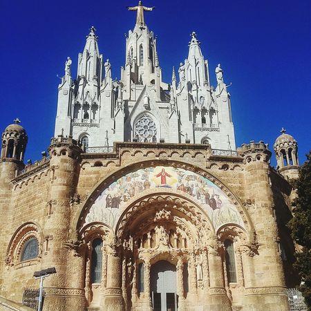 Sagrat Cor Architecture Church Tibidabo Taking Photos Smartphonephotography Barcelona SPAIN